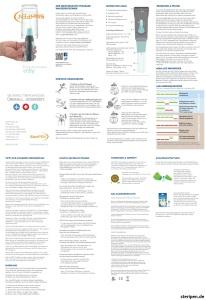 SteriPEN.de Aqua Bedienungsanleitung Handbuch Anleitung Beschreibung User Manual