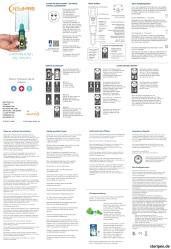 SteriPEN.de Ultra Bedienungsanleitung Handbuch Anleitung Beschreibung User Manual